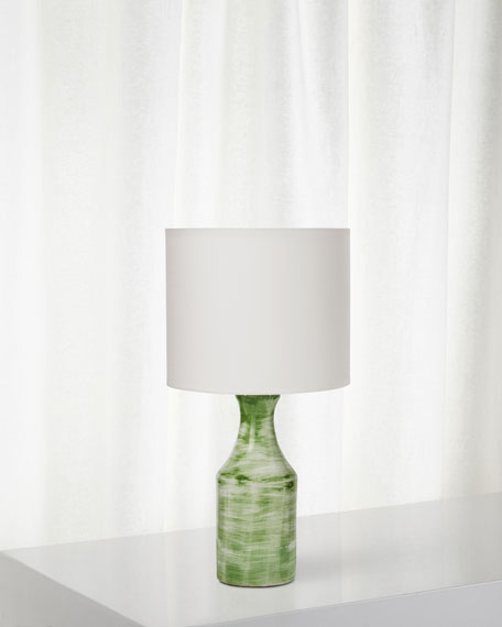 Bungalow Table Lamp, Green