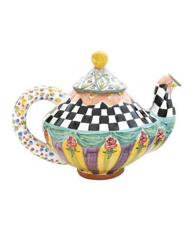 Odd Fellows Teapot