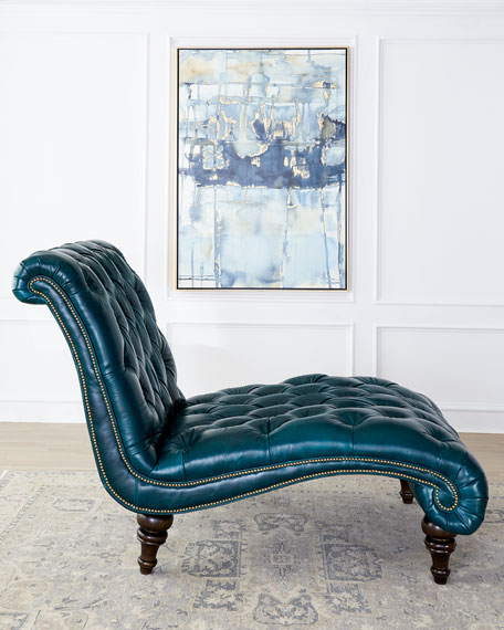 Charlotte Tufted Leather Chair