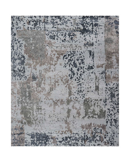 Krystal Hand-Knotted Runner, 2.3' x 8'