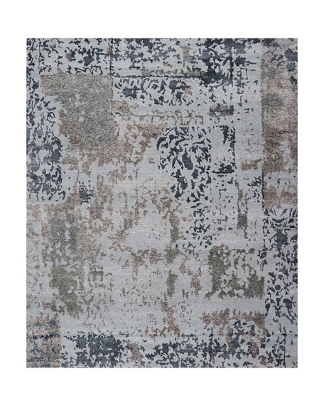 Krystal Hand-Knotted Rug, 5.6' x 7.5'