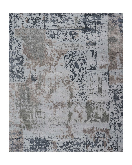 Krystal Hand-Knotted Rug, 9.9' x 13.9'