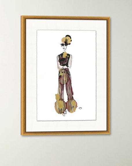 """""""Fete VI"""" Giclee Art"""