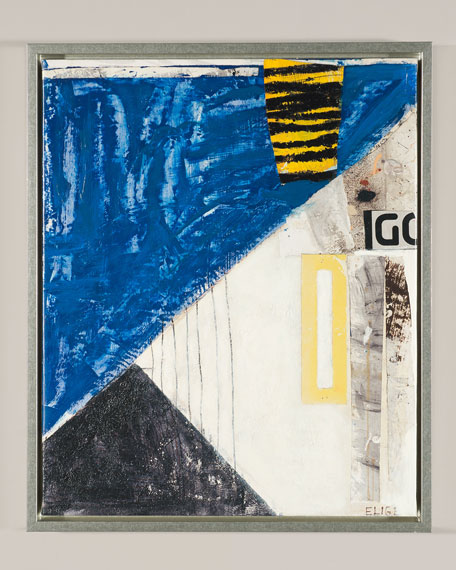 """Ernest Fashion II"" Giclee Canvas Art by Elige"