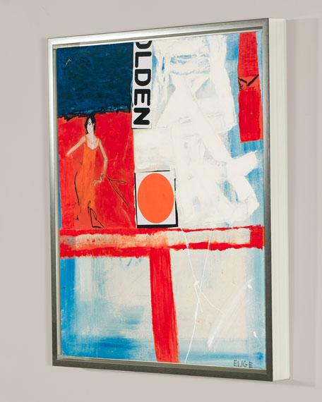 """Ernest Fashion IV"" Giclee Canvas Art by Elige"