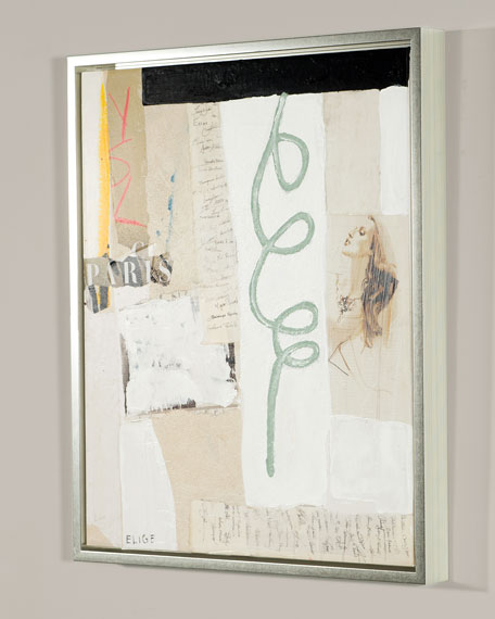 """Ernest Fashion V"" Giclee Canvas Art by Elige"