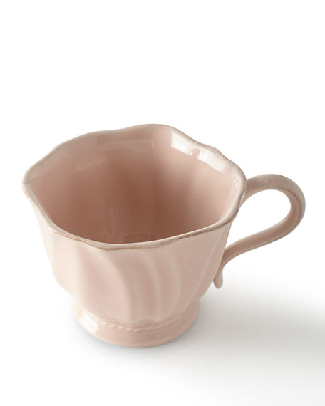 Juliska Madeleine Petal Pink Coffee/Tea Cup