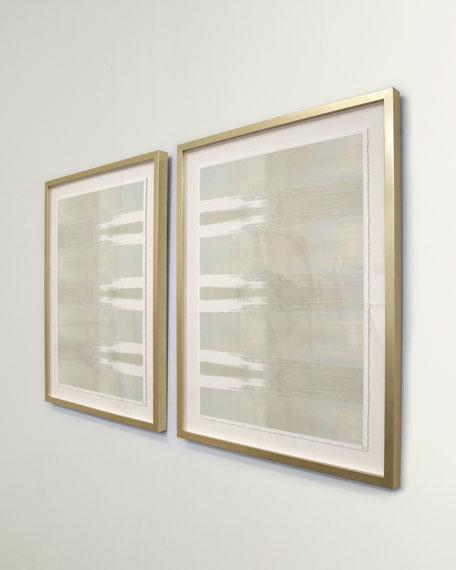 "Pair of ""Dusk in Pastel"" Wall Art by Carol Benson Cobb"
