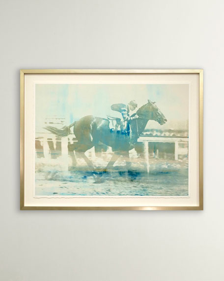 """Man O' War"" Homage No. 2 Wall Art by Carol Benson Cobb"