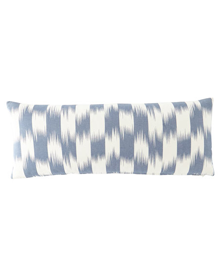 "Checkerboard Pillow, 15"" x 34"""
