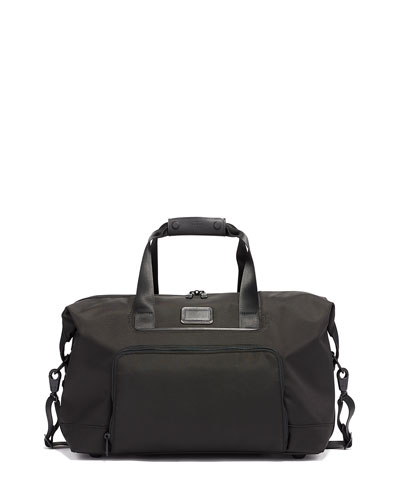 Alpha Double Expansion Satchel