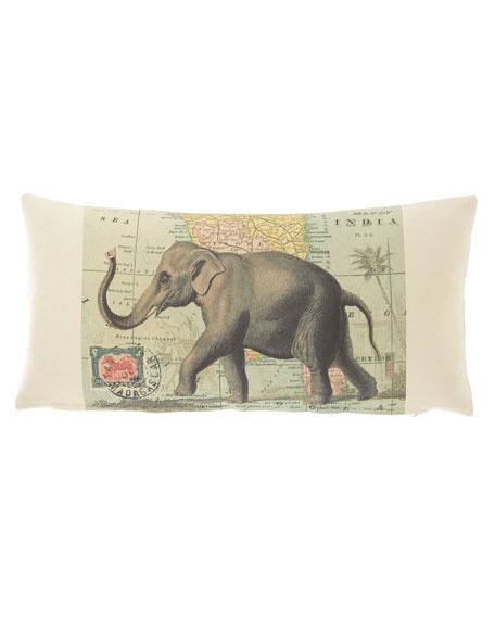 French Laundry Home Elephant Pillow, 10