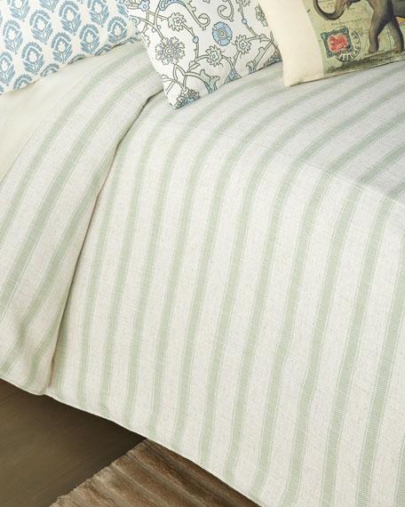 Stripe Queen Coverlet