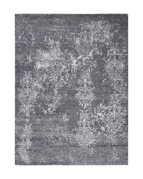 Mamie Hand-Knotted Runner, 2.3' x 8'