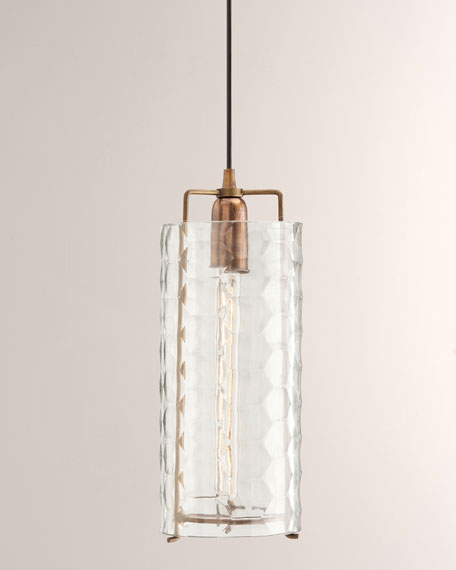 Laura Kirar for Arteriors Ice Large Pendant