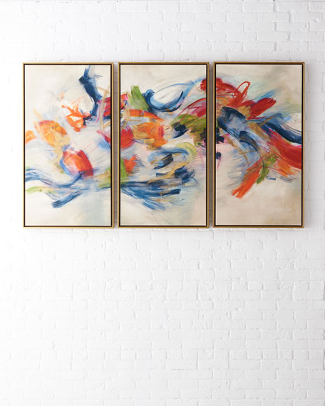 """Hypnotists"" Tryptic Giclee Art"