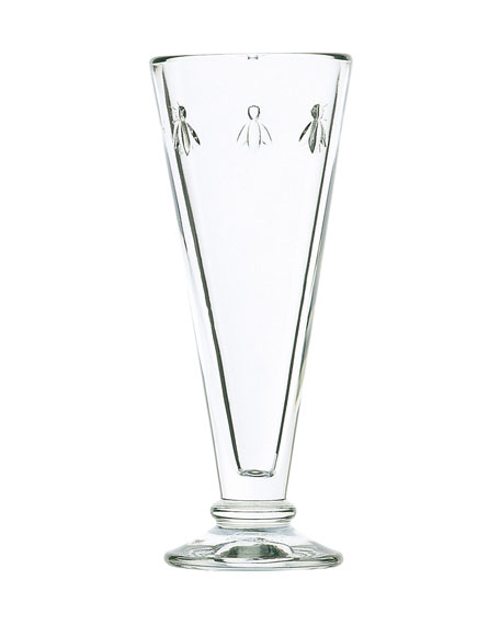 Bee Champagne Flutes, Set of 6