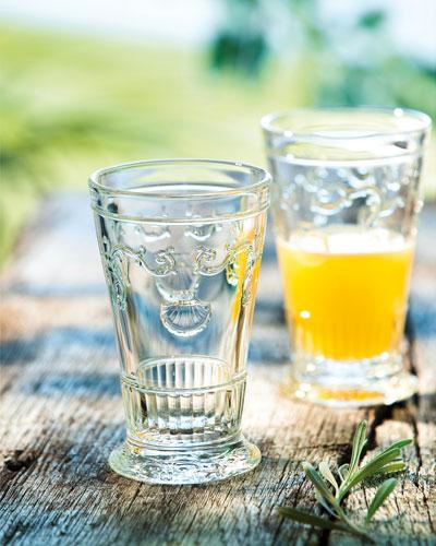 Versailles Ice Tea Glasses  Set of 6
