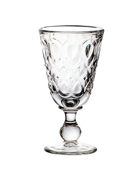 Lyonnais Clear Wine Glasses, Set of 6