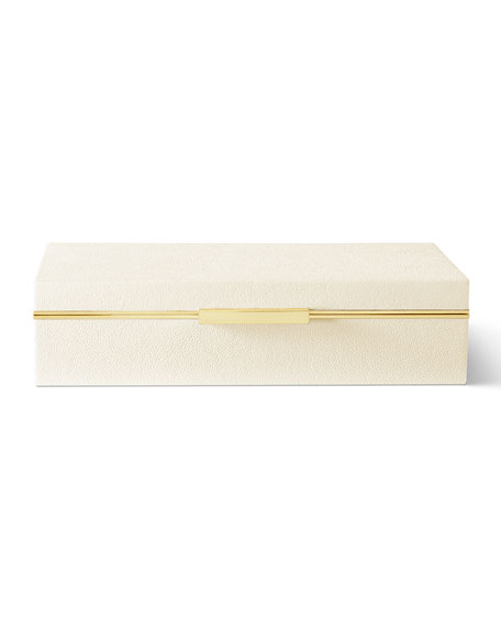 AERIN Shagreen Envelope Box