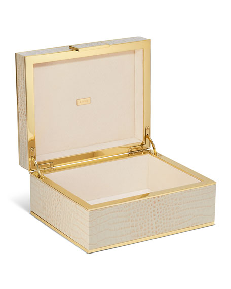 Classic Croc Small Jewelry Box