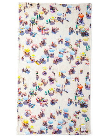 The Copacabana Beach Towel