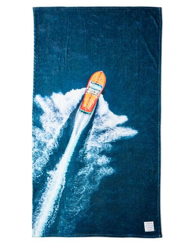 The Lake Como Beach Towel