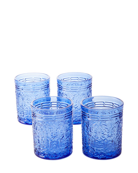 Godinger Jax Double Old-Fashioned Glasses, Set of 4