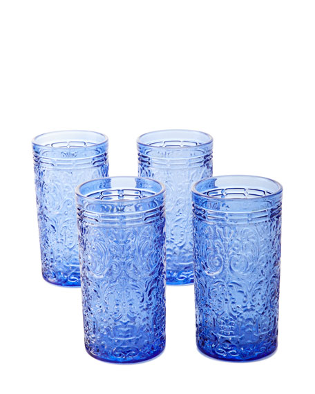 Godinger Jax Highball Glasses, Set of 4