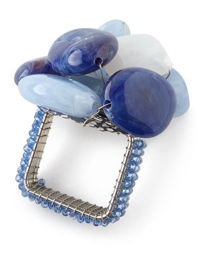 Sea Stone Napkin Ring