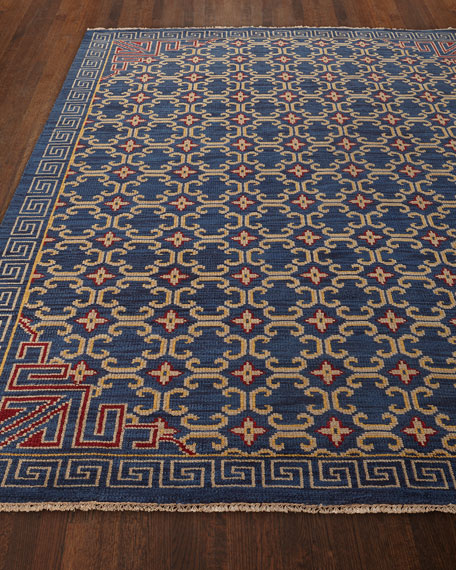 """Clarice Hand-Knotted Rug, 5' x 7'6"""""""