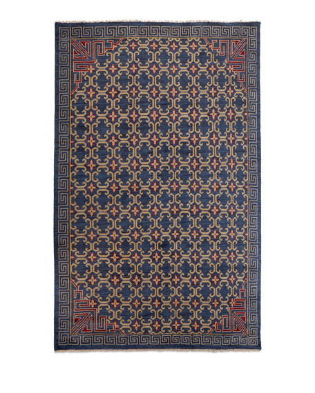 "Clarice Hand-Knotted Rug, 7'6"" x 9'6"""