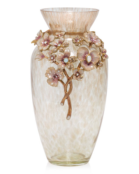 Jay Strongwater Boudoir Bouquet Vase