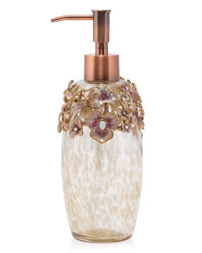 Boudoir Floral Soap Pump