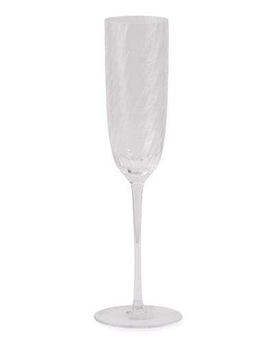 Twist Diamond Champagne Flute