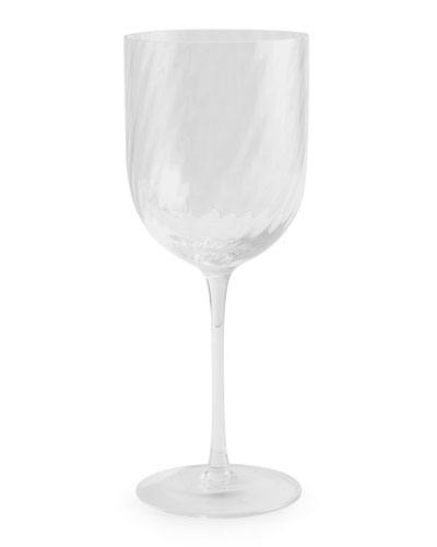 Twist Diamond Water Glass