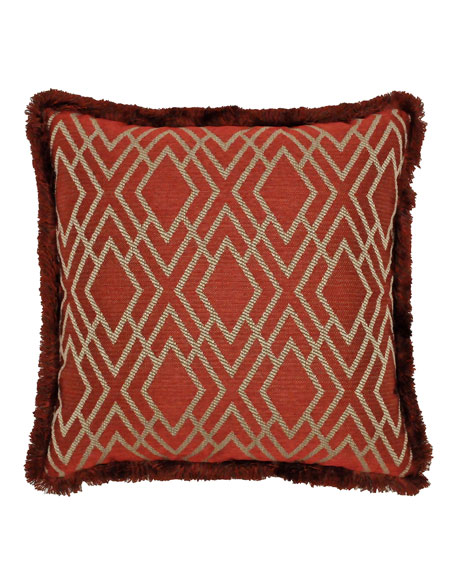 "Harrogate Decorative Pillow, 19""Sq."