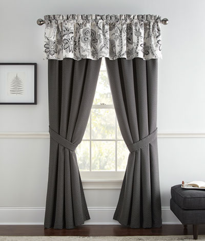 Valencia Lined Curtain Panels  Set of 2