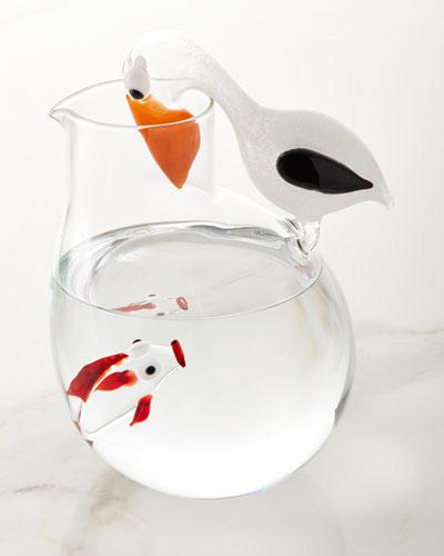 Pelican and Fish Jug