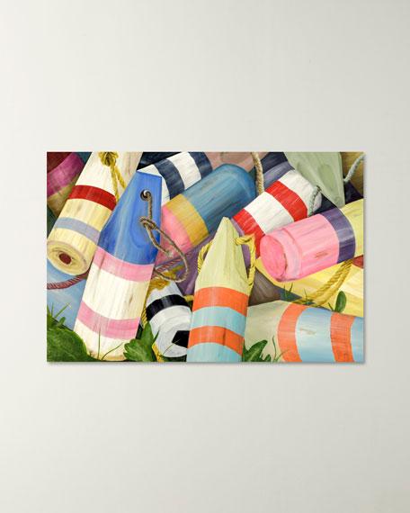 """Nautical Buoys"" Giclee Wall Art"