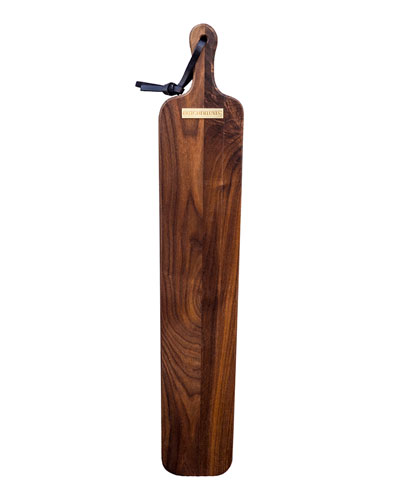 Extra-Long Slim Fit French Walnut Bread Board