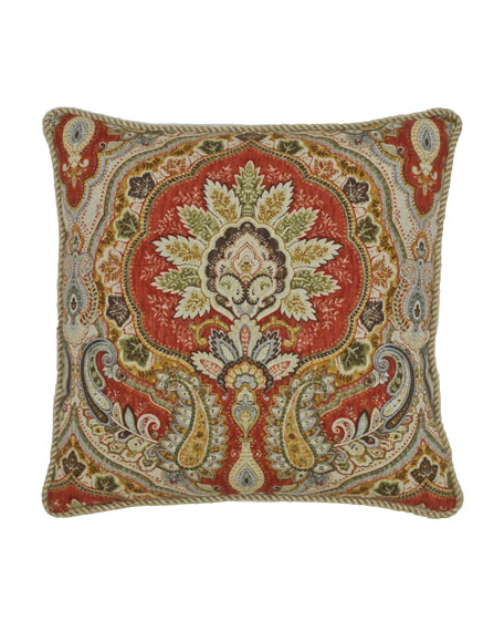 "Harrogate Decorative Pillow, 18""Sq."