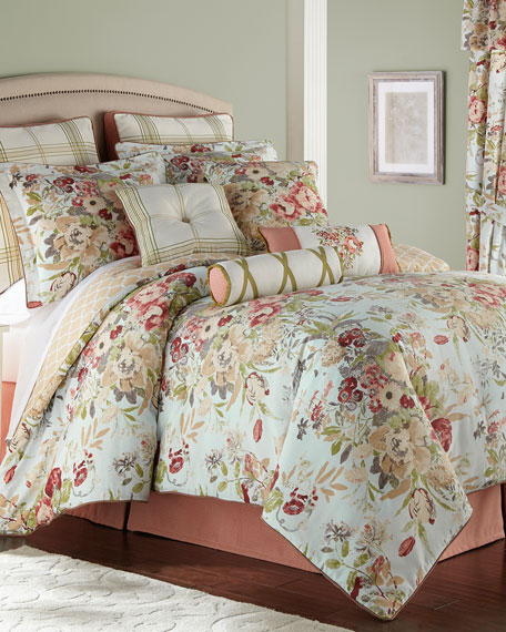 Rose Tree Lorraine 4-Piece King Comforter Set