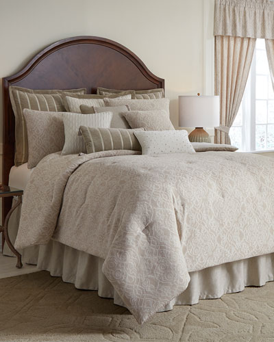 Laurenza 4-Piece Queen Comforter Set