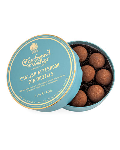 English Afternoon Tea Truffles