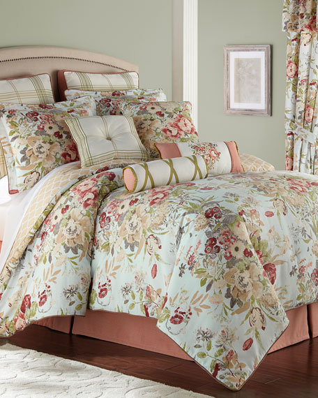 Rose Tree Lorraine 4-Piece Queen Comforter Set