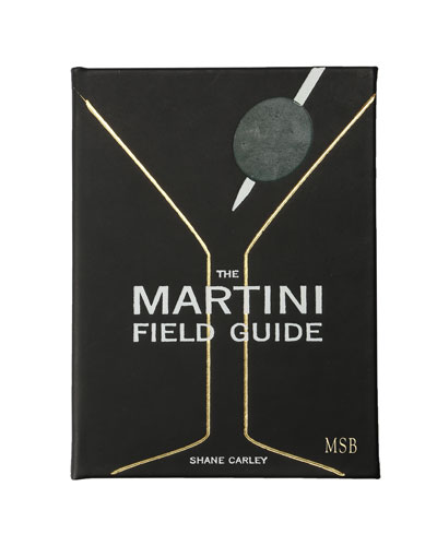 Martini Field Guide Book  Personalized