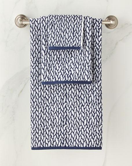 Lauren Ralph Lauren Sanders Basket Weave Washcloth
