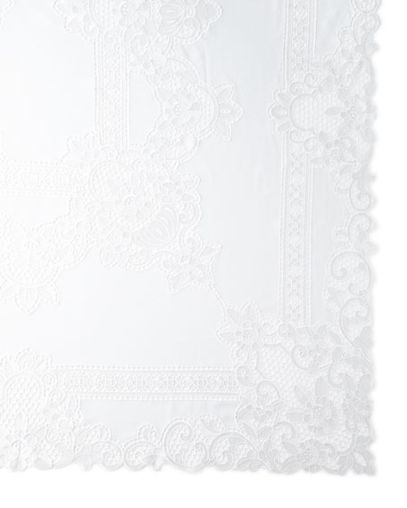 "Simeon 72"" x 126"" Tablecloth & 12 Napkins"