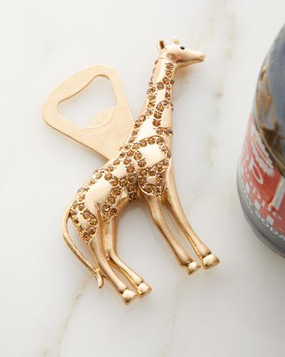 Giraffe Topaz Bottle Opener